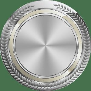 Silver-Badge-Circle